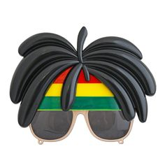This pair of Rasta glasses with hair will be a great addition to your party outfit. Costume Accessories, Fancy Dress, Mirrored Sunglasses, Pairs, Campaign, Outfits, Medium, Products, Fashion