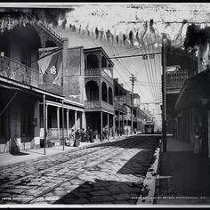 Royal St 1940s, New Orleans  http://www.pinterest.com/pin/164662930101251759/