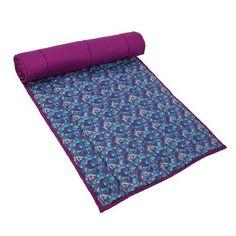 Indian Yoga Mat Meditation Cushioned Cotton Printed Decor Strap Bag by ShalinIndia, http://www.amazon.com/dp/B00E5W6U9E/ref=cm_sw_r_pi_dp_v7l-rb1F3B0GN