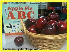 Little Miss Kindergarten - Lessons from the Little Red Schoolhouse! It's Applesauce Season!