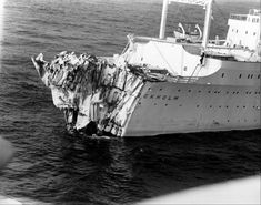 Images: Sinking of the Andrea Doria Andrea Doria, Plane Window, New York Harbor, Nantucket Island, Cruise Ships, Shipwreck, Titanic, Abandoned Places, Aerial View