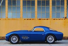 The Gatto Built by Moal Coachbuilders using the V12 from a Ferrari 250 GTO. One rare bird.