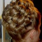 Updo For Short Hair – Curly And Formal Updos formal short hair updos ...