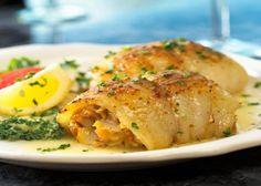 Crab Stuffed Flounder