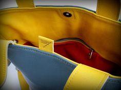leather hand / shoulder bag with satin metal accessories Satin, Shoulder Bag, Metal, Leather, Bags, Accessories, Handbags, Satin Tulle, Shoulder Bags