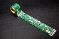 箔押し加工会社から生まれた『 ナスカの電子回路 』マスキングテープ