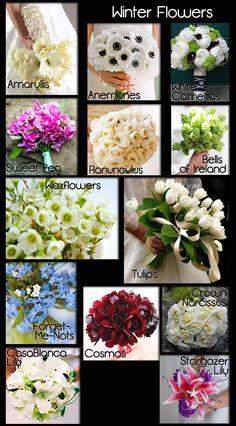 Wedding Flowers | A Seasonal Guide with Photos