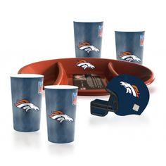 Paquete Botanero Broncos de Denver NFL