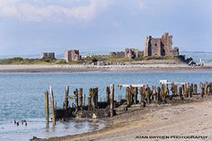 Piel Castle from Walney Island, Barrow in Furness, Cumbria