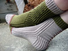 Frankensocks    http://www.knitty.com/ISSUEfall08/PATTfrankensocks.html