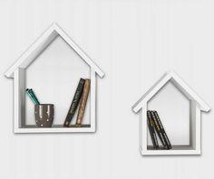 Set 2 rafturi de perete Maison White - Vivre