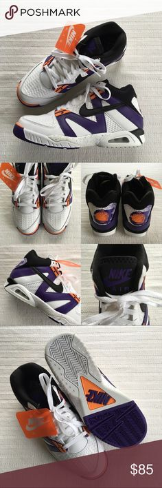 Men's Nike Air Tech Challenge III Off Court Shoes Men's Nike Air Tech Challenge III Off Court Shoes  Style/Color: 749957-102  • Men's size 10  • NEW in box (no lid) • No trades • 100% authentic Nike Shoes Sneakers