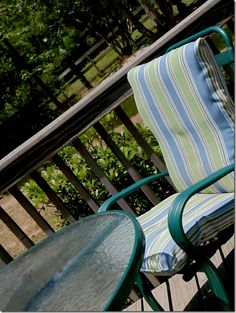 How To Recover Patio Cushions