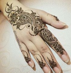 Stylish and attractive Cone Mehndi Design are present on this article. Hope you people like those latest designs and try them. Stylish Mehndi Designs, Mehndi Designs For Girls, Henna Designs Easy, Beautiful Mehndi Design, Arabic Mehndi Designs, Mehndi Patterns, Latest Mehndi Designs, Henna Tattoo Designs, Mehandi Designs