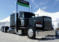 Peterbilt 389 Show Truck Black