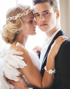 Peinados de novia con exquisitos tocados 10