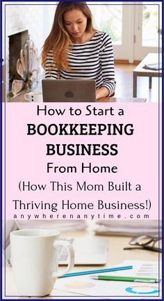 Bookkeeping Business Launch trains you for a career as a bookkeeper which you can do from home. Read how this mom has built a thriving bookkeeping business and is able to work from home. Bookkeeping Course, Online Bookkeeping, Bookkeeping Business, Home Party Business, Work From Home Business, Starting Your Own Business, Business Launch, Business Tips, Online Business