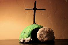 easy salt dough recipe and empty tomb craft