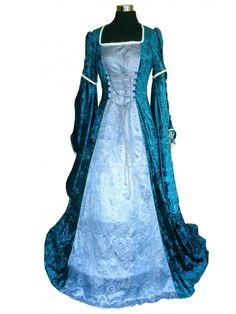 Deluxe ladies Medieval Renaissance Costume