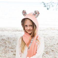 Wild Things Hooded Scarf   Tails