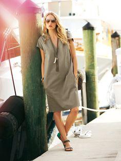 Creating DIY Fashion Trends – Designer Fashion Tips Fashion Sewing, Diy Fashion, Fashion Tips, Dress Sewing Patterns, Clothing Patterns, Burda Patterns, Simple Dresses, Casual Dresses, Cocoon Dress