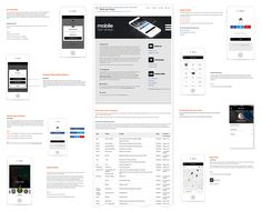 adidas STYLE GUIDE FOR MOBILE APPS on Behance