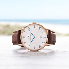 With the Daniel Wellington Dapper St. Mawes watch, see how a touch of class can go a long way. #DanielWellington