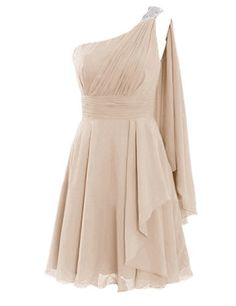 Diyouth Short One Shoulder Appliques Bridesmaid Dresses Ruffles Party Gowns Champagne Size 2 Diyouth http://www.amazon.com/dp/B00LTYC1M6/ref=cm_sw_r_pi_dp_5IdWub10P8C52