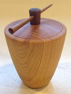 Richard Coers - old growth pine #Woodturning