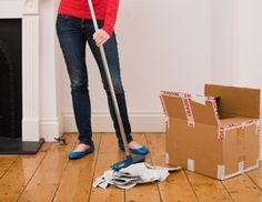House Cleaning Before You Move In | My Move