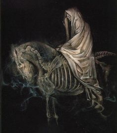 And I looked, and behold a pale horse: and his name that sat on him was Death. - Revelation 6:8