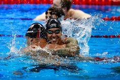 NBC Olympics @NBCOlympics  Aug 12 #USA Hugs.   #Rio2016
