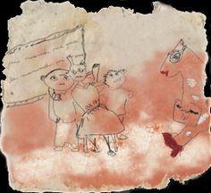 Carta... dalla creazione del foglio alle immagini che nascono dalla polpa. Painting, Painting Art, Paintings, Painted Canvas, Drawings