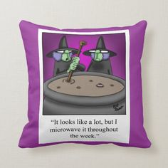Shop Funny Halloween Witches Pillow created by Spectickles. Halloween Witches, Halloween Gifts, Funny Halloween, Happy Halloween, Halloween Decorations, Funny Pillows, Throw Pillows, Custom Pillows, Decorative Pillows