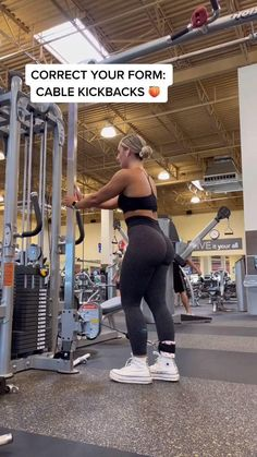 Gym Workout For Beginners, Fitness Workout For Women, Fitness Goals, Fitness Tips, Fitness Motivation, Gym Tips For Beginners, Ladies Fitness, Gym Fitness, Leg And Glute Workout