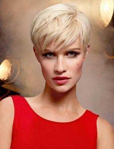 Prachtige platinum blonde korte kapsels die je laten stralen!