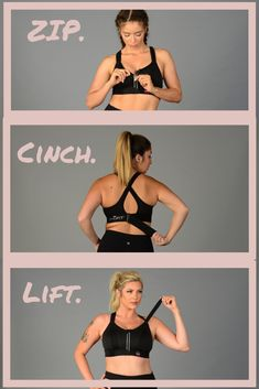 44b0ca4aaadfe Set your fit and level of support! SHEFIT s Ultimate Sports Bra offers  no-bounce
