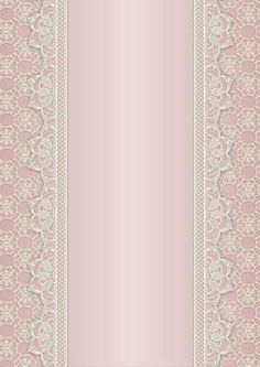 Vintage Lace Panel A4 Background Rose on Craftsuprint designed by Karen Adair - This is a pretty A4 sized background with a lace edged central panel. Great to line the outside of an A5 sized landscape tent card, or as an insert. Or whatever else you can think of! If you like this, check out my other designs, just click on my name. - Now available for download!