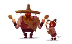 -MEXICAN LOVERS BAND- on Character Design Served