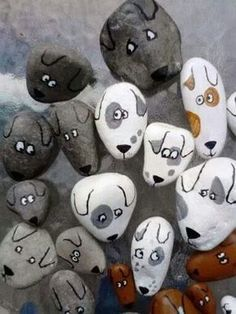 65 Awesome and Cute Rock Painting Ideas