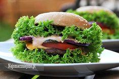 Hamburger, hamburger domowy, burger wołowy http://najsmaczniejsze.pl #food #hamburger