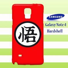 Dragonball Z Goku GI Samsung Galaxy Note 4 Case Cover Hardshell