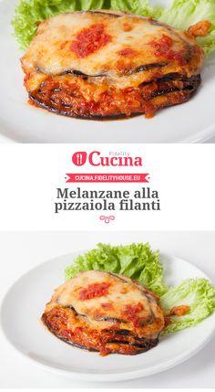 Melanzane alla pizzaiola filanti
