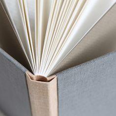 paperiaarre | sewn boards binding – linen variations | http://www.paperiaarre.com