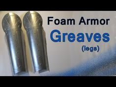 This is a tutorial on how to make a Knight's Greaves out of craft foam. Greaves are the shins on a suit of armor. And I show you a neat technique for making ...