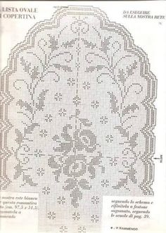 Kira scheme crochet: Scheme crochet no. 3285
