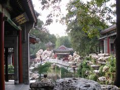 """Robert Hart, the main character in """"My Splendid Concubine"""" and """"Our Hart"""", often met Prince Kung in this garden."""