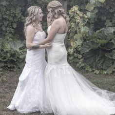cool vancouver wedding What's more beautiful than a bride? Two brides! Congratulations to these two amazing women. We couldn't be happier for you! We had such an amazing time being a part of your wedding day. #yvrwedding #vancouverbride #brides #weddingdress #love #vancouverweddingplanner #congratulations #perfection  #vancouverwedding #vancouverweddingdress #vancouverwedding