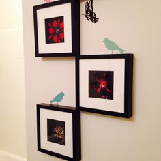shadow box flowers crafts frames paper cherry blossom flower
