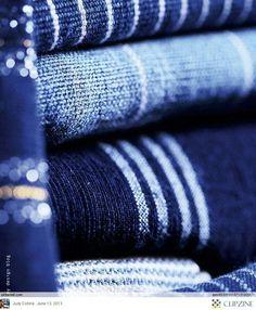 French By Design- Indigo Textiles Azul Indigo, Bleu Indigo, Mood Indigo, Blue Dream, Azul Anil, Le Grand Bleu, Himmelblau, French Blue, Blue Aesthetic
